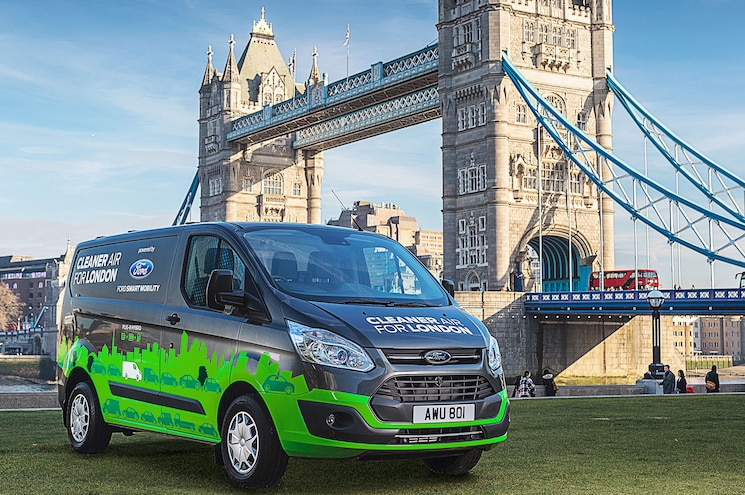 Ford Testing Plug-In Transit Vans in London