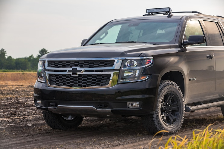 2017 Chevrolet Tahoe Front View