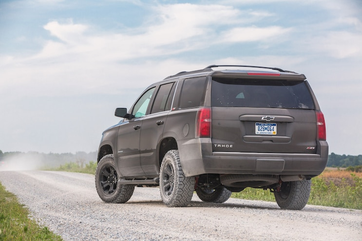 2017 Chevrolet Tahoe Rear