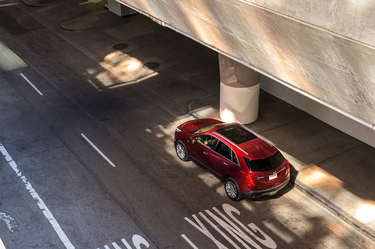 2017 Cadillac XT5 Exterior Rear From Above