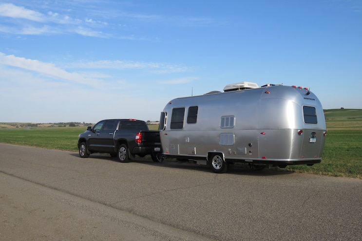 Airstream Sport 22FB And 2017 Toyota Tundra 013