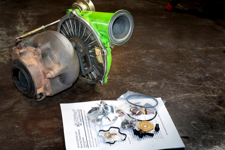 How To Rebuild a 7.3L GTP38 Turbo