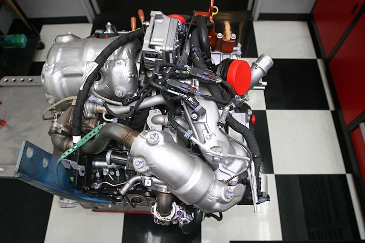 6.6l Duramax L5P Engine Top