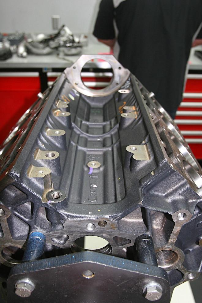 6.6l Duramax L5P Engine Block Valley