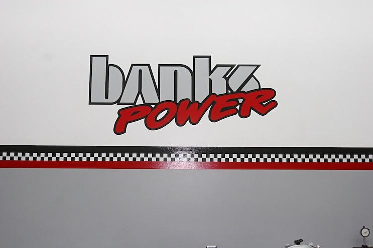6.6l Duramax L5P Banks Power Wall Emblem