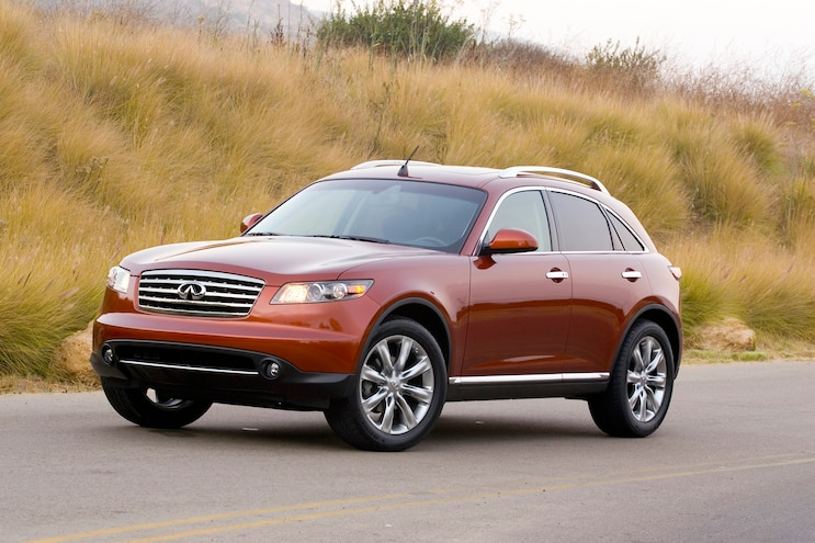 Pre-Owned: 2003 to 2008 Infiniti FX35