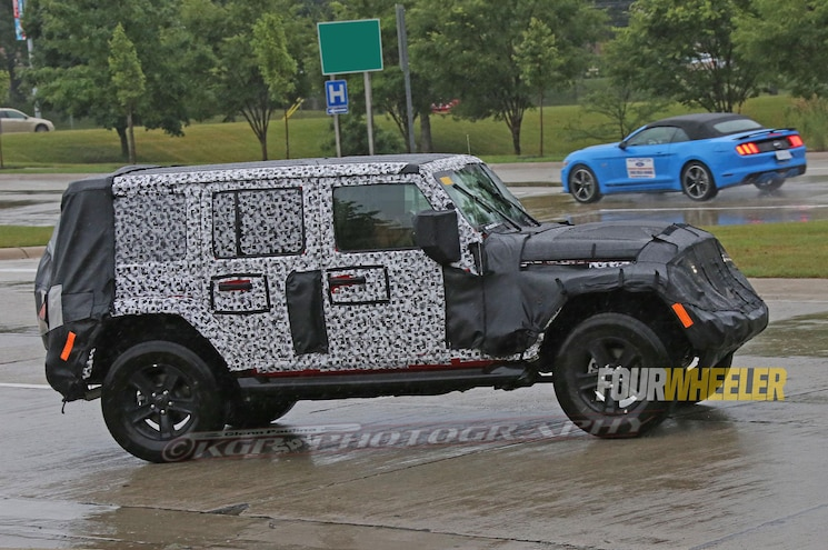 2019 Jeep Wrangler Jl Rolling Right Side