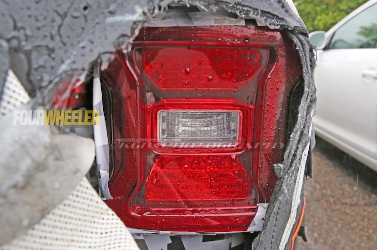 2019 Jeep Wrangler Jl Tailight Closeup
