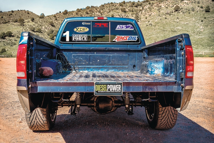 2004 Ford F250 Diesel Power Challenge Competitor Charlie Keeter Rear