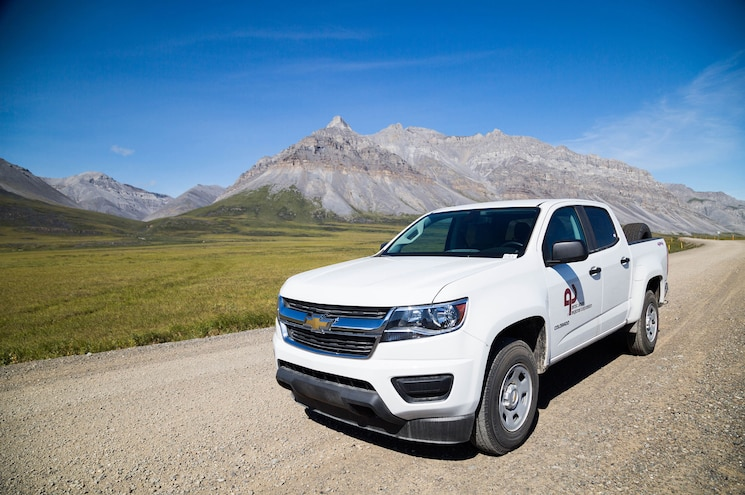 2015 Chevrolet Colorado Alaska Left Front