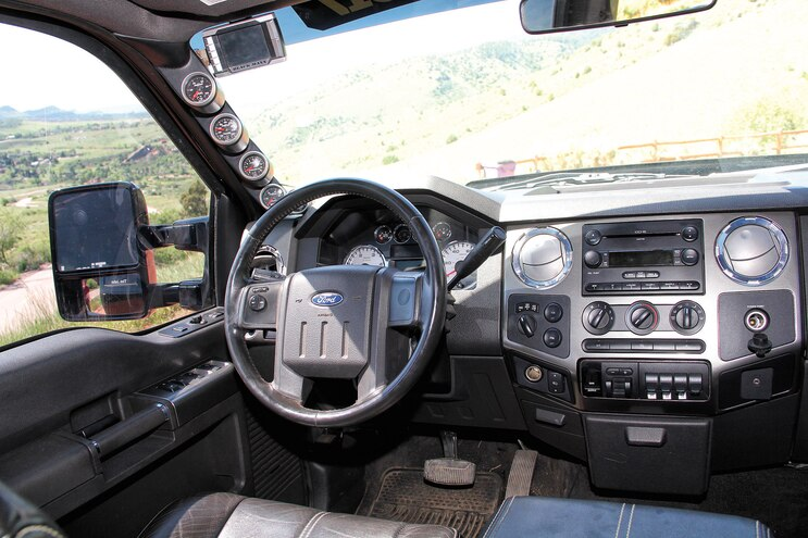 2008 Ford F250 Tim Jahn Interior Dash