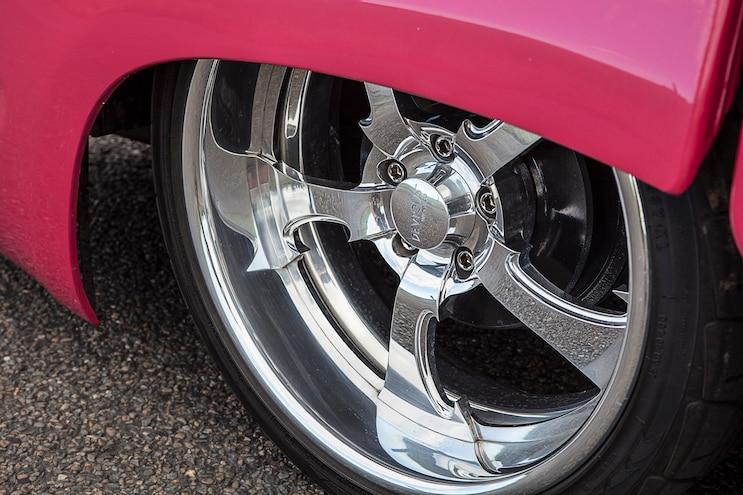 2000 Toyota Hilux Pink Taco Wheel