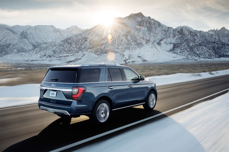 2018 Ford Expedition Exterior Rear Quarter In Motion