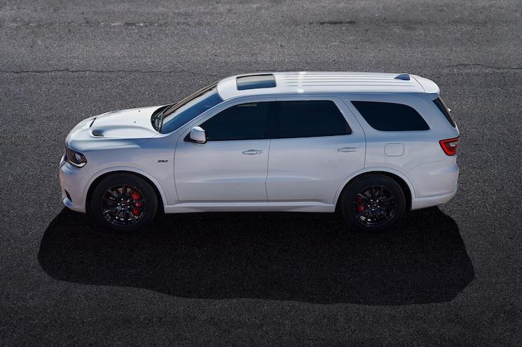 2018 Dodge Durango Srt Exterior Side Profile High