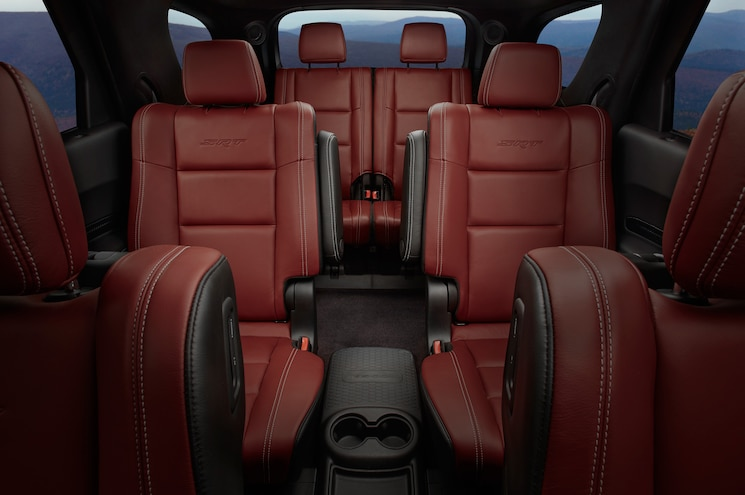 2018 Dodge Durango Srt Interior Rear Seats