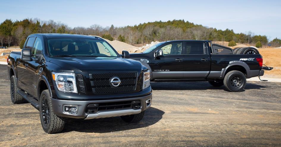 2017 Nissan TITAN PRO 4X And TITAN XD 2