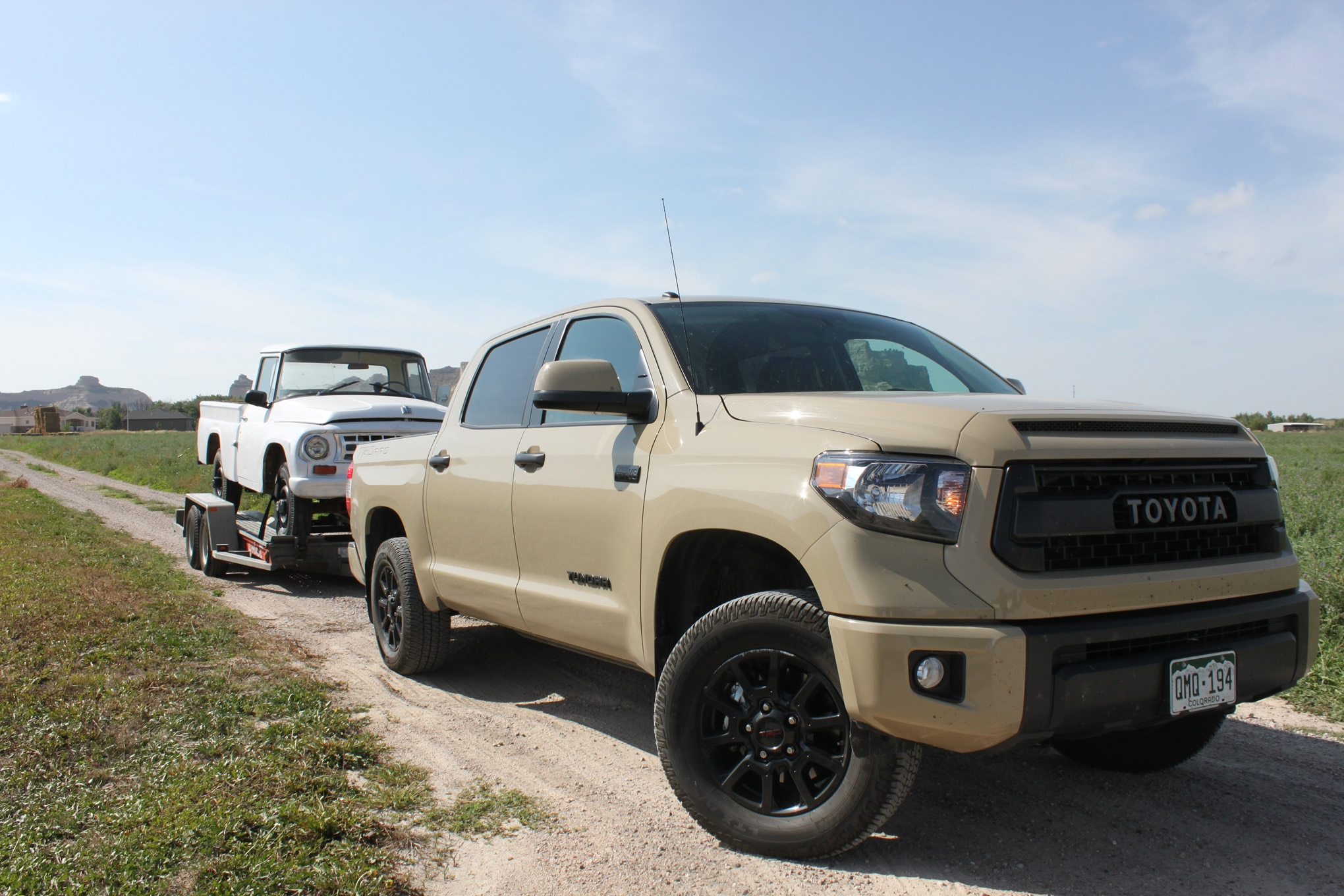 Towing With A 2016 Toyota Tundra Trd Pro