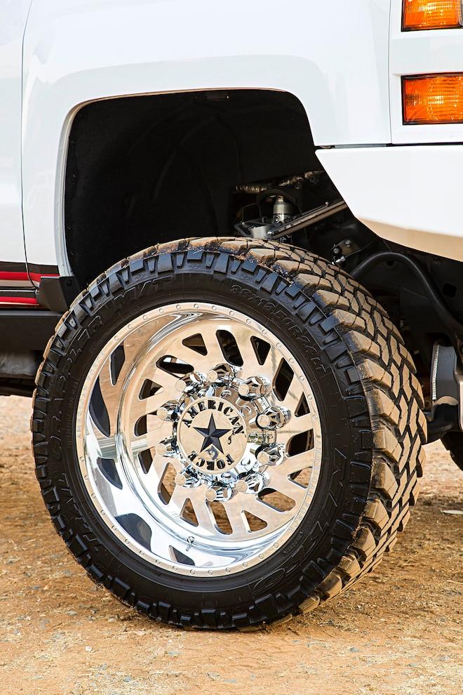 2015 Silverado 3500hd Wheel