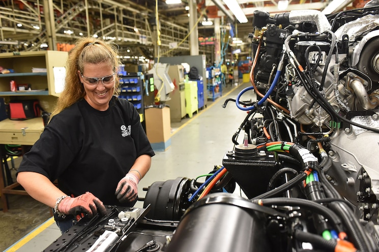 2016 Ford F 650 F 750 Ohio Assembly Production Line