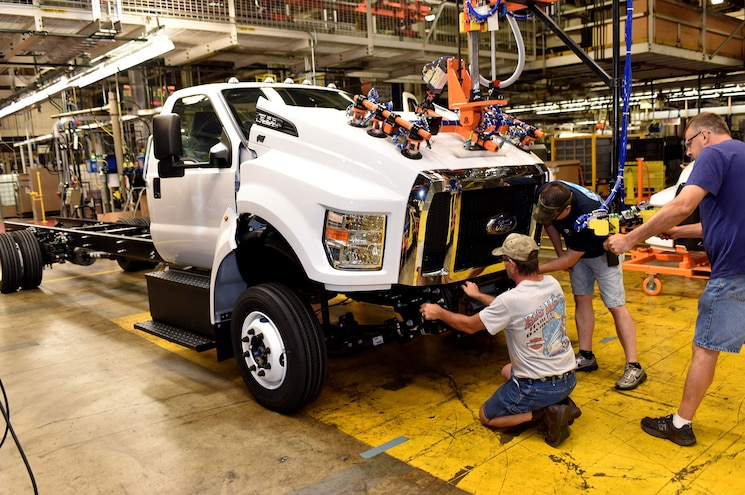 Ford Plant in Ohio Makes 130 Temporary Layoffs