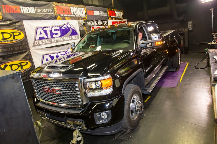 Truck Trend's 1-Ton Challenge: Fuel Economy and Dyno