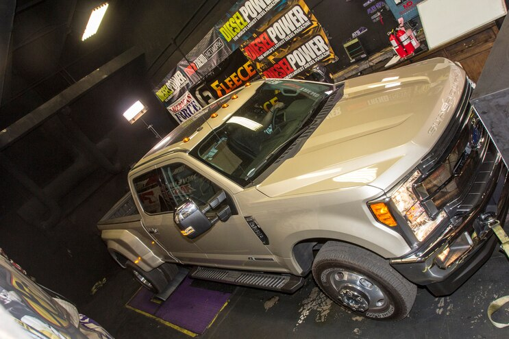 1 Ton Challenge Fuel Economy Dyno Ford