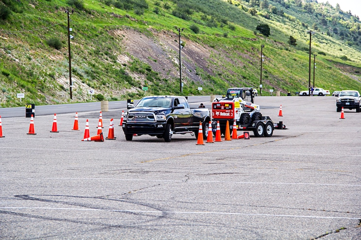 Truck Trend's 1-Ton Challenge: Obstacle Course