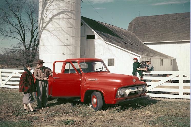 1954 Ford F 100 Pickup Truck Neg C551 1