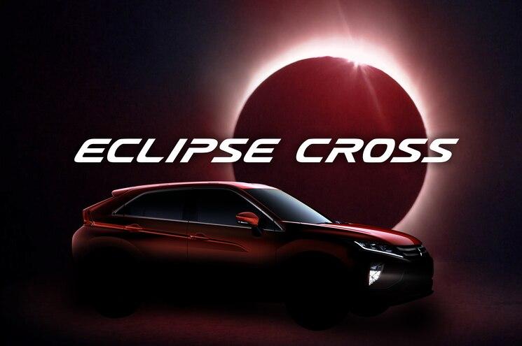 Mitsubishi Teases Eclipse Cross Ahead of Geneva Debut