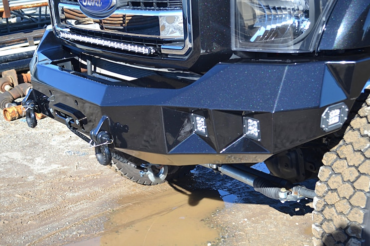 Dark Knight 2015 Ford F 350 006 Bumper