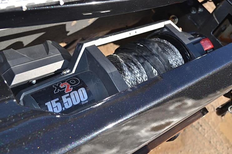 Dark Knight 2015 Ford F 350 007 Winch