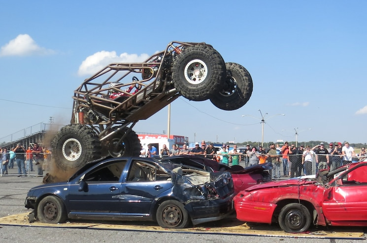 Truck Mania Car Crushing