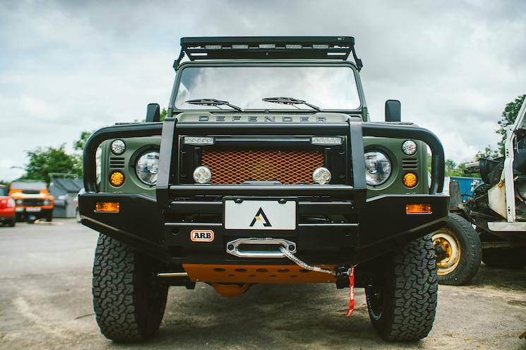 Arkonik Reveals Its Latest Project: The Land Rover Defender FORCE D110