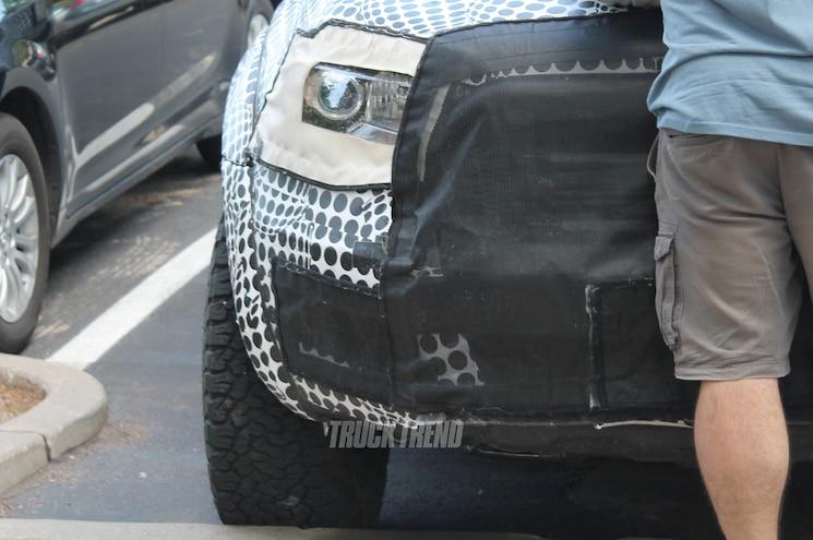 2019 Ford Ranger Raptor Front Headlight