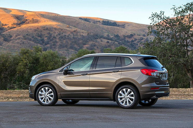 2017 Buick Envision First Drive Side View