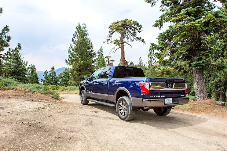 2016 Nissan Titan XD Report 4 Rear