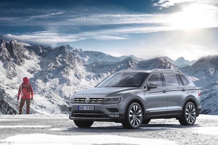 2018 Volkswagen Tiguan Allspace Previews U.S.-Spec Model