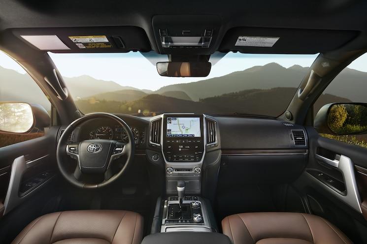 2016 Toyota Land Cruiser Front Interior