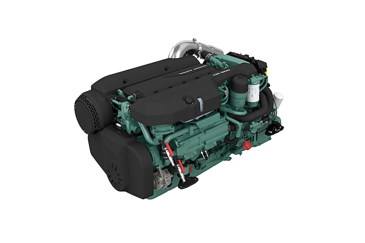 Volvo Penta D8-600: Diesel-Powered Luxury