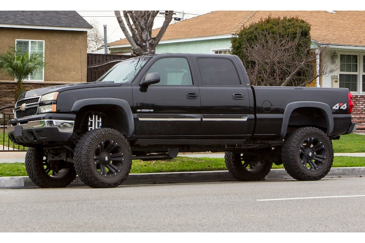 8-Lug or HD Truck and We Spot a 1500HD