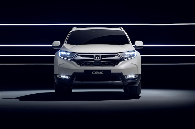 Honda Cr V Hybrid Prototype Front Profile