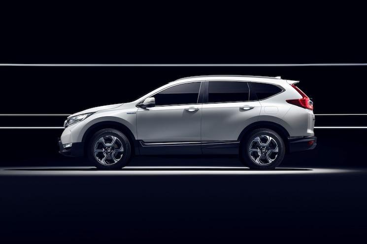 Honda Cr V Hybrid Prototype Side Profile