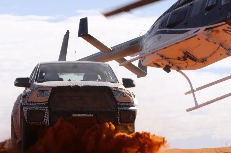 2019 Ford Ranger Raptor Teaser Helicopter