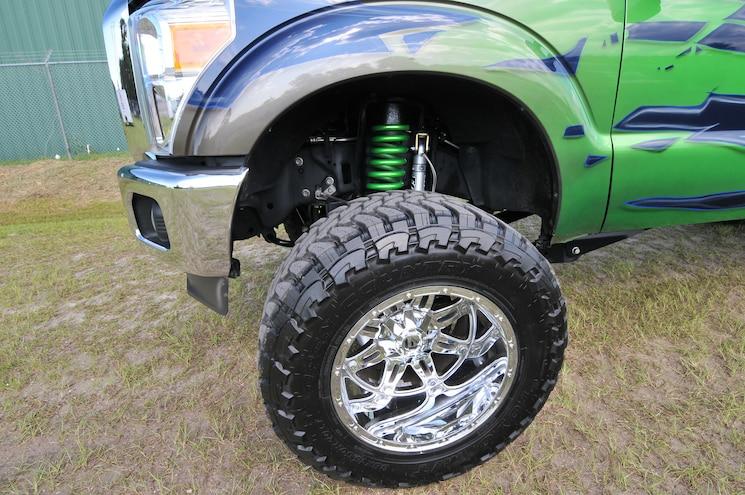 Ford F250 Holman Wtr Wheel Suspenison