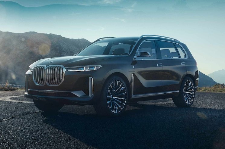 BMW Shows Concept X7 iPerformance Fullsize SUV Before Frankfurt