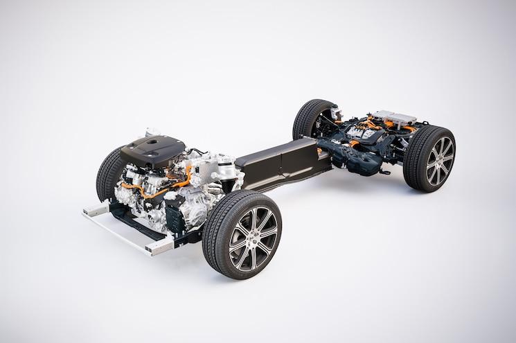 2018 Volvo Xc60 T8 Twin Engine Hybrid Powertrain