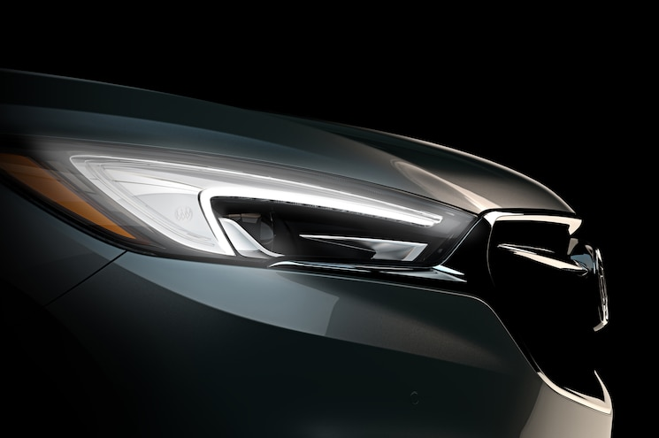 2018 Buick Enclave Teaser Shows Radically Sleeker Styling