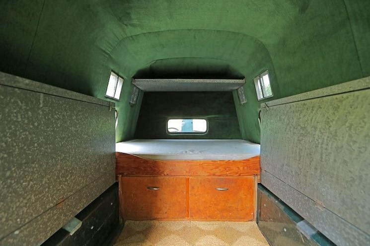 1952 Chevrolet Pickup Truck Camper Interior Steve Mcqueen