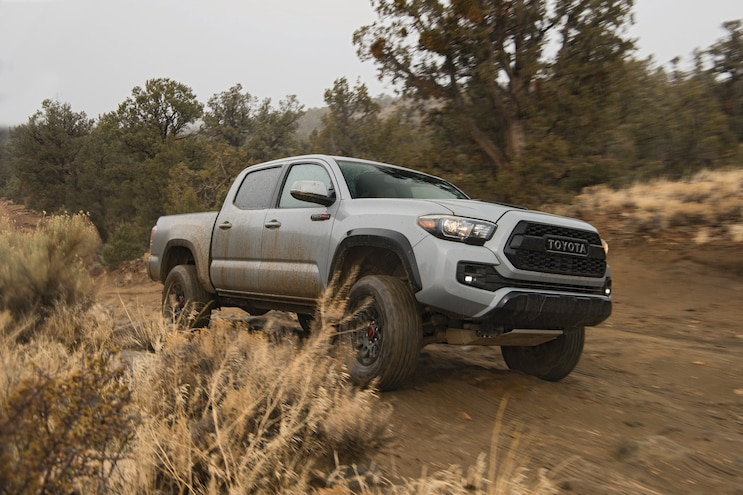 2017 Pickup Truck Of The Year Toyota Tacoma Trd Pro Lead