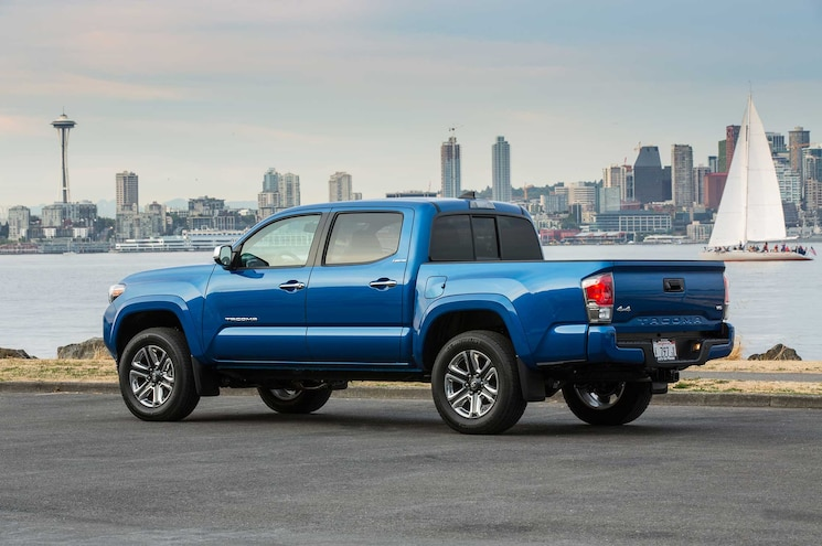 2016 Toyota Tacoma Limited Driver Side Profile